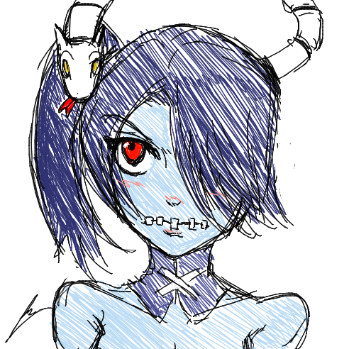 Squigly sketchness by borockman