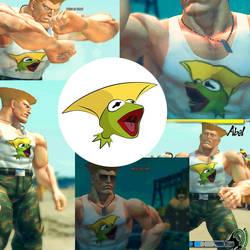 Street Fighter IV Mod: Gurmit by gavacho13