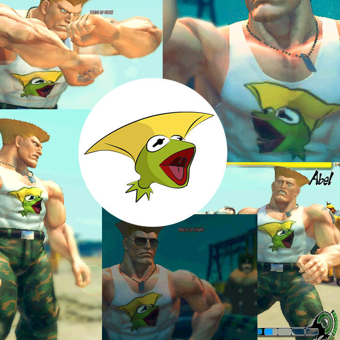Street Fighter IV Mod: Gurmit by gavacho13