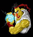 Sesame Street Fighter - Ha-a-a-a-a-doken