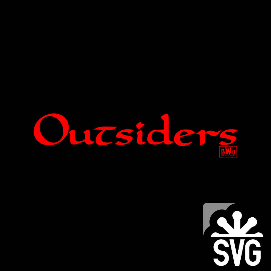 Outsiders (n W o) Logo SVG by DarkVoidPictures on DeviantArt
