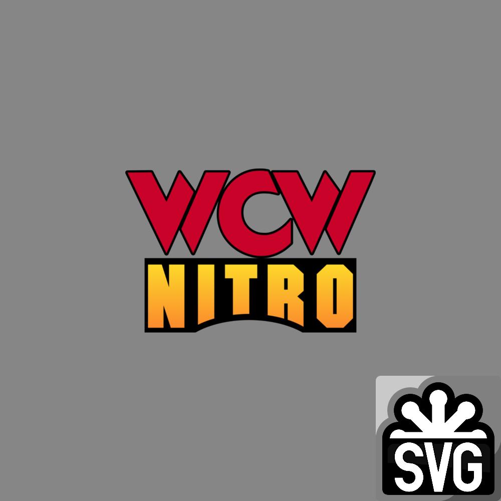 WCW Nitro (1995-1999) Logo 1 SVG by DarkVoidPictures on
