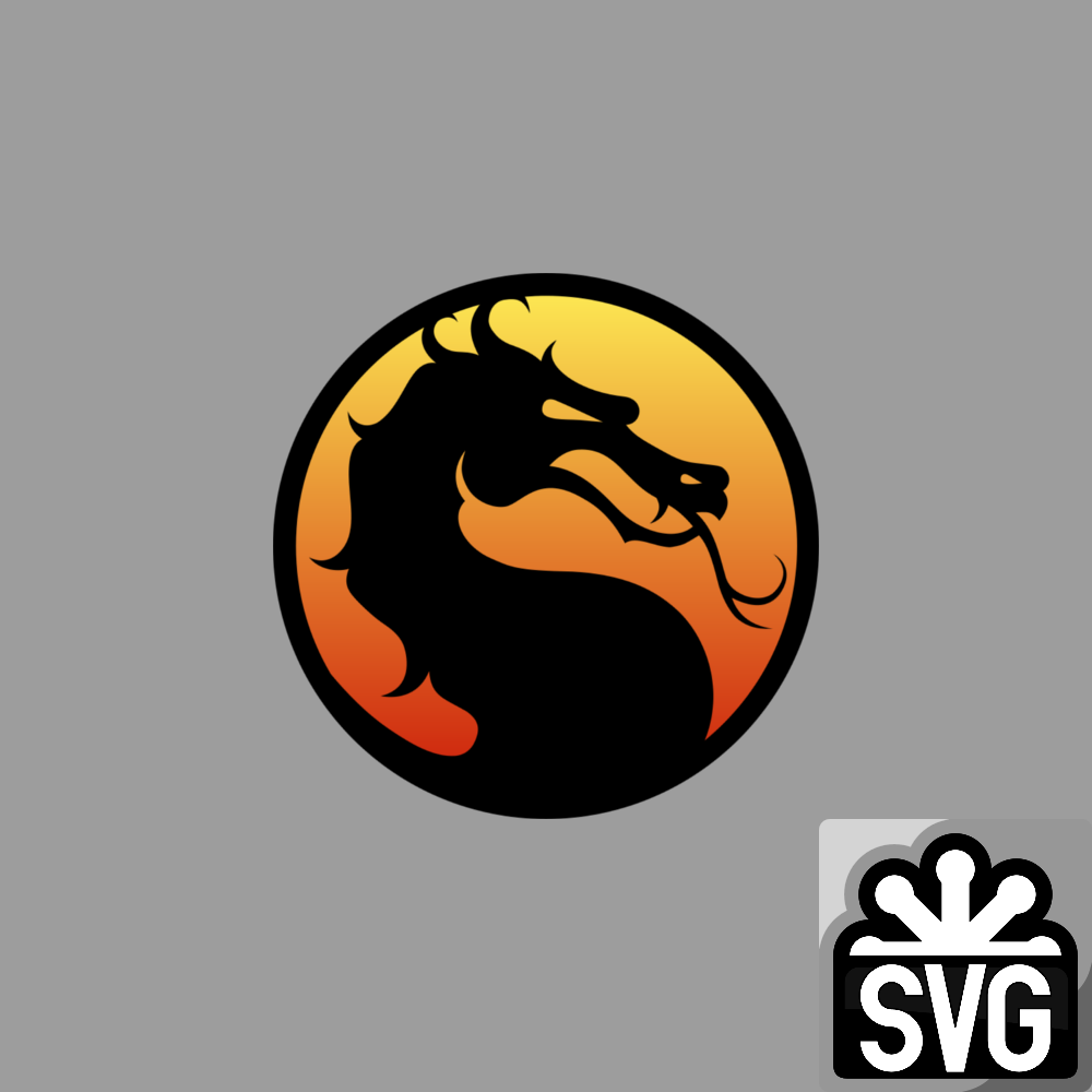 Mortal Kombat Dragon Logo Svg By Darkvoidpictures On Deviantart