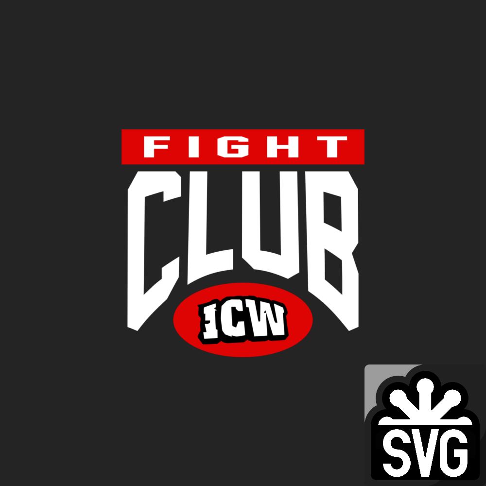Icw Fight Club Logo Svg By Darkvoidpictures On Deviantart