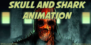 Skull and Shark animation