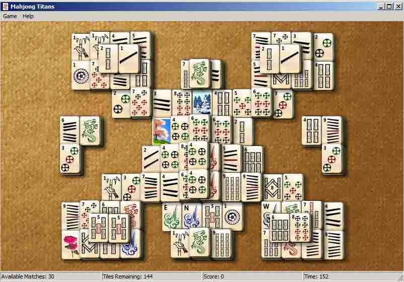 Pc Game Mahjong Titans Spider Video windows7 - YouTube
