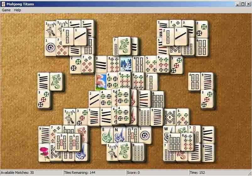 Mahjong Titans Freeware
