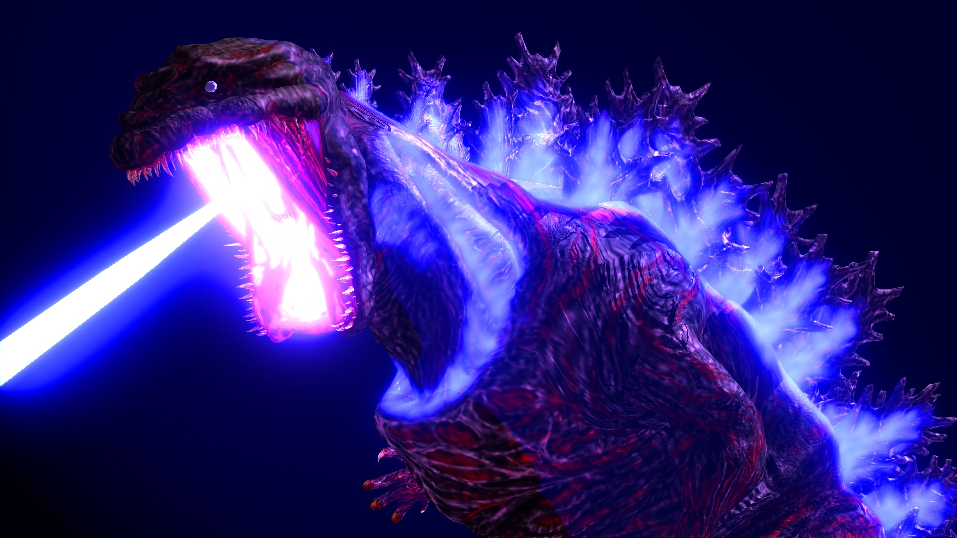 Shin Godzilla Blue Skin Texture + DL by MyLittleGZilla on ...