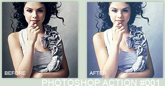 Photoshop Action 001 by xSparklyVampire