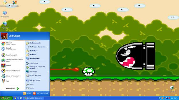 Super Mario World theme for Windows XP by SUPERMARIO231A