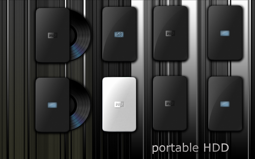 hdd icons by phantommenace2020