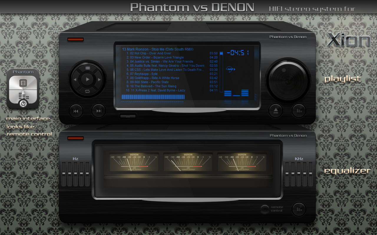 phantom vs denon by phantommenace2020