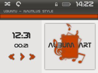 ubuntu style for rockbox by phantommenace2020