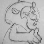 ...A gift - Pencil Test by CARUTOONS