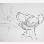 Stich again- Pencil test by CARUTOONS