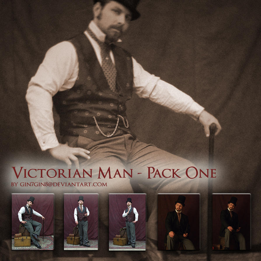 Victorian Man - Pack One by Georgina-Gibson