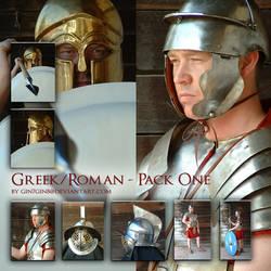 Roman Greek - Pack One by Georgina-Gibson