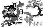 japanese brush set