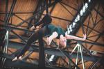 Aerial silk II at Triple Hall Karolina - Ostrava by Zavorka