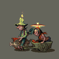 Miners, animated