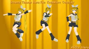 MMD Dreamy Theater Neru [Rin Cosplay]+Download