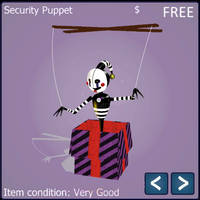 [MMD FNAF] Security Puppet by zoobletiger-Maxoso41