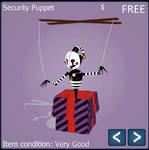 [MMD FNAF] Security Puppet