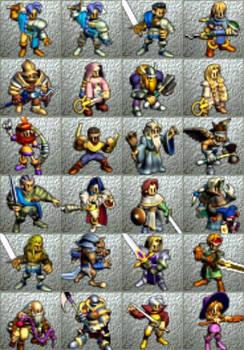 OB64 - Main Characters