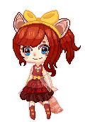 Audrey Sprite (animated) by Zehith