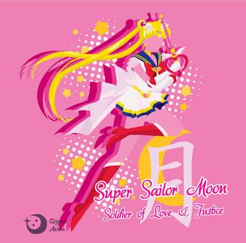 Super Sailor Moon T-Shirt Design by Sigma-Astra