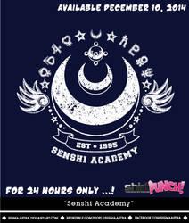 Senshi Academy Tee by Sigma-Astra
