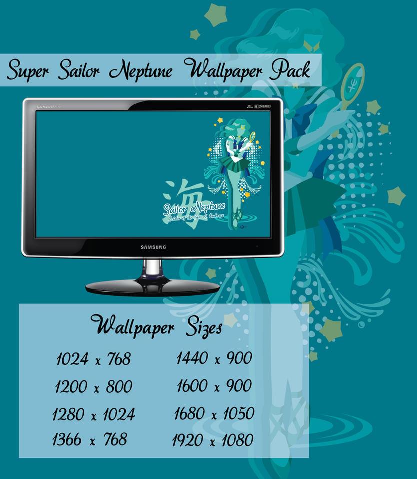 Sailor Neptune Wallpaper