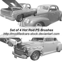 Hot Rod Photoshop Brushes