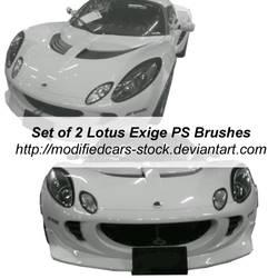 Lotus Exige Photoshop Brushes