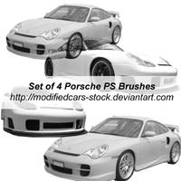 Porsche Photoshop Brushes by ModifiedCars-stock