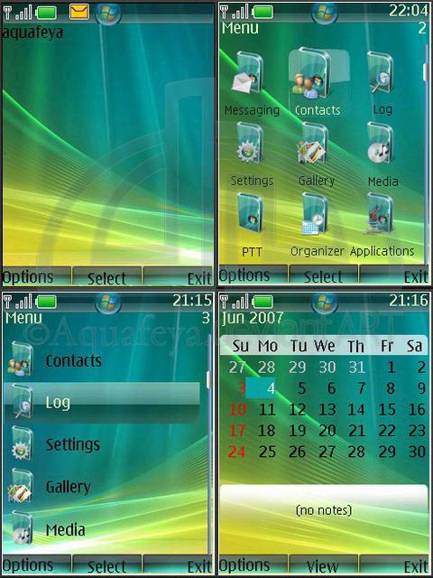Vista Nokia Theme s40
