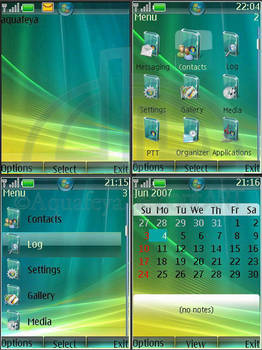 Vista Nokia Theme s40