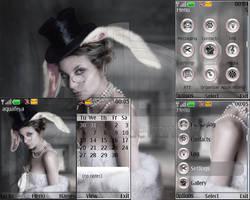 Follow the white rabbit by Aquafeya