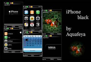 iPhone black.v2 Nokia s40 by Aquafeya