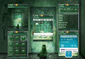 Dream Nokia s40 Theme by Aquafeya