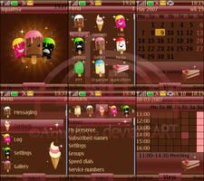 Freaky Crema Nokia s40 Theme by Aquafeya