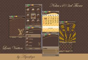 Louis Vuitton Nokia s40 Theme by Aquafeya