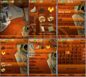 Indiana Jones Nokia s40 3rd by Aquafeya