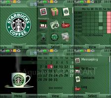 Starbucks Nokia s40 theme
