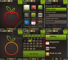 Apple Nokia s40 theme