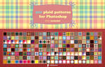 200 plaid patterns for Photoshop