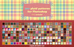 200 plaid patterns for Photoshop