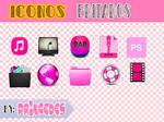 Iconos editados por Mi:3