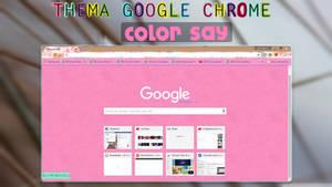 Theme Google chrome ColorSay