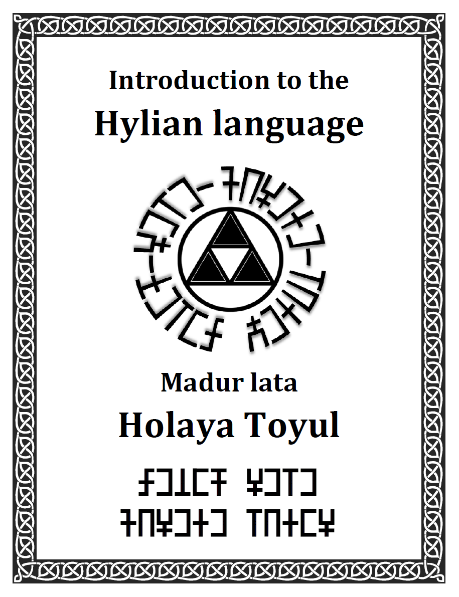 introduction to the hylian language by istana hutan on deviantart